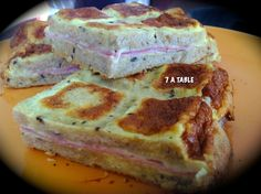 CROQUE MONSIEUR TABLETTE