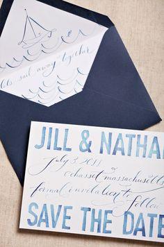 invitaciones de boda de acuarela - Una Boda Original - Blog de bodas e ideas para una boda original