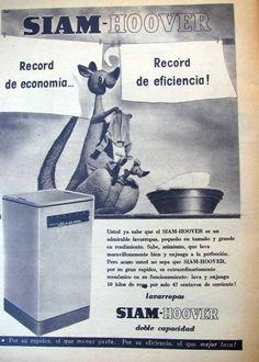 Lavarropas SIAM, década del 60.