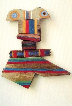 Betty Parsons. These are fun/use up scraps from shop class