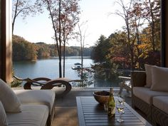 Sunset Vacation Rental - VRBO 467734 - 3 BR Lake Keowee House in SC, Contemporary Lake Front Home with Stunning Views