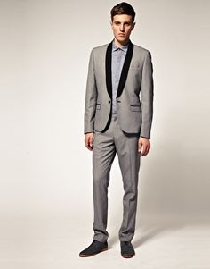 ASOS Slim Fit Tuxedo Suit Jacket.