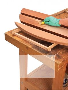 There Are Three Basic Clear Finishes For Outdoor Furniture Exterior Oil Varnish And An