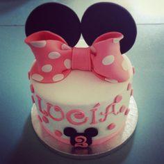 #minnie#pink#cake#lapequeñapasteleriademama (en La Pequeña Pastelería de Mamá)