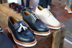 """GROOM & POSSE... Close-up shot...""""Dr. Marten's Men's Footwear Spring/Summer 2012"""""""