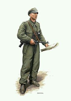 Wehrmacht Early Combat Officer
