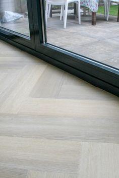 Real Wood Floors, White Oak Floors, Herringbone Wood Floor, Interior Decorating, Interior Design, Parquet Flooring, Luxurious Bedrooms, Home Living Room, Home Renovation