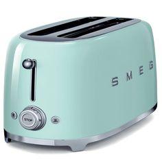 Grille-pain SMEG TSF01PGEU Vert d\'eau, Grille pain sur Boulanger ...