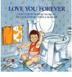 The story of a mother's love for her son and how it never changes however old he is. Although a children's book, it reminds us of what's important in life - always.