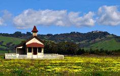 San Simeon School - San Simeon, California
