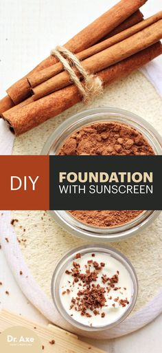 Most store-bought foundation products are filled with a long list of ingredients that can damage your skin, cause cancer and affect your endocrine system.