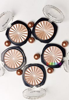 Купить металлический хайлайтер peach flush shadow stargazer по цене 190 грн в Киеве, Украине — Artsoul Makeup
