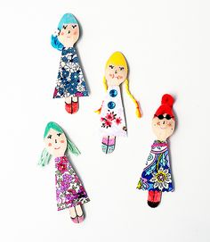 Weekend Project - Easy Wooden Doll Crafts