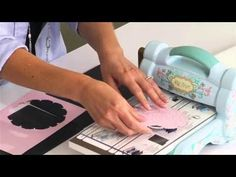 Using the Silicone Rubber Pad to Emboss - YouTube