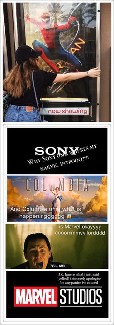 #spidermanhomecoming Who else was in panic mode when Sony and Columbia came upp?? (P. S. Yes Disney still owns our precious Marvel and it was only a collab between the three. Phew)