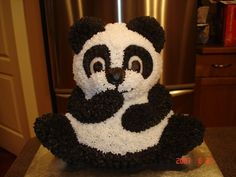 Panda Cake I did this for a friends daughters birthday. She had tried to do it for her 3 year olds birthday but couldn't. Panda Cakes, Fresh Cake, 3 Year Olds, Pineapple Coconut, Pretty Good, Cake Decorating, Decorating Ideas, First Birthdays, Birthday Parties