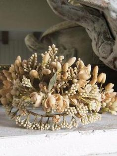 Wassen bruidskroon/ kroon