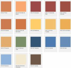 hacienda colors | ... exclusive Hacienda Style Color Palette from PPG Pittsburgh® Paints