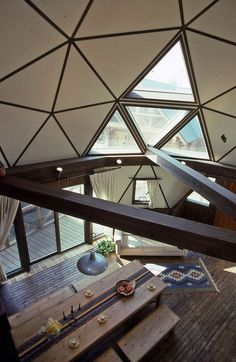 Gallery | BESS DOME Geodesic Dome Homes, Dome House, Round House, Tiny House Living, Log Homes, Building A House, Architecture Design, House Plans, Construction