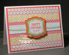 Hybrid Label Love layered artisan punch by RCarter - Cards and Paper Crafts at Splitcoaststampers