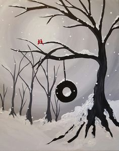 Hey! Check out Winter Swing in the Park at Big Willies - Paint Nite