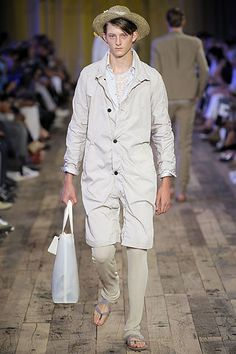Lanvin Spring 2009 Menswear Fashion Show