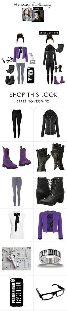 """""""Soundwave"""" by queenofwordsandplots ❤ liked on Polyvore featuring Tricker's, Miss Selfridge, Madden Girl, H&M, Spymaster and Sony"""