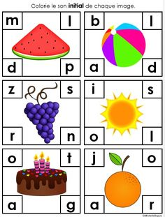 You can use this activity as a whole class activity first to model how to identify a beginning sound. Then, it can be placed in a literacy center or station. You can also use these as beginning sounds assessment cards. Class Activities, Kindergarten Activities, Classroom Activities, Classroom Ideas, Primary Classroom, Beginning Sounds, Beginning Of School, Conscience Phonémique, Autism Preschool
