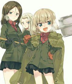 Girls und Panzer: Katyusha, Nonna