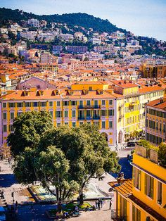 Nice, France. So gorgeous and full of colors!