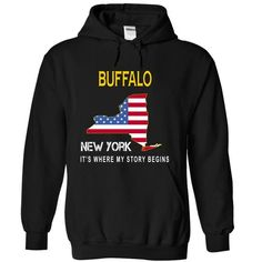I Love BUFFALO - Its Where My Story Begins T shirts