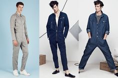 Men's 2014 Fashion Trends: Overalls, Lookbook Inspiration