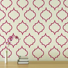 Moroccan Pattern 2  Vinyl Wall Decal   wall par wordybirdstudios, $42.95