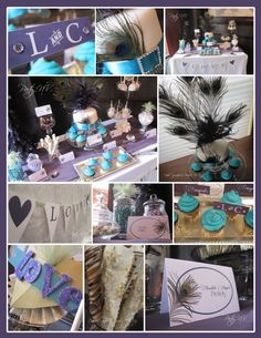 peacock bridal shower ideas | Every little girl wants to be a Rock Star! I was overjoyed to make ...