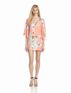 COREY Women's Christine Kimono Sleeve Shift Dress