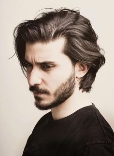 Neck Length Layered Hair hair styles for men Handsome And Cool – The Latest Men's Hairstyles for 2019 Medium Length Hair Men, Chin Length Hair, Medium Hair Cuts, Long Hair Cuts, Medium Hair Styles, Long Hair For Men, Mens Medium Length Hairstyles, Men's Hair Long, Thin Hair