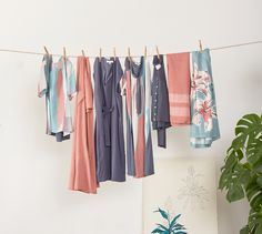 With a whole new collection to explore, now's the time to plan your latest looks. And these pieces? You can layer them all now. Then let them speak for themselves when the weather warms. Shop culottes, shirt dresses and more. Sustainable Fabrics, Sustainable Clothing, Ethical Fashion, Wardrobe Rack, Archive, Sari, Weather, Shirt Dress, Explore