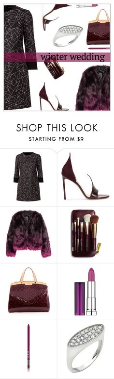 """Anastazio-True Romance: Winter Wedding"" by anastazio-kotsopoulos ❤ liked on Polyvore featuring Neil Barrett, Francesco Russo, Bobbi Brown Cosmetics, Louis Vuitton, Maybelline, Anastazio, Unique, vogue and luxury"