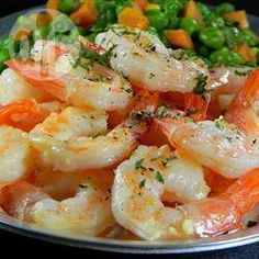 Foto de la receta: Camarones al mojo de ajo rapidísimos