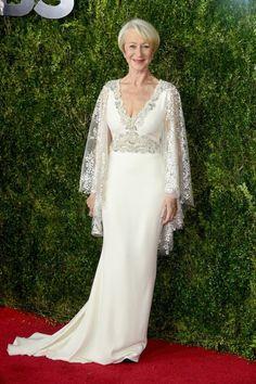 Helen Mirren at the 2015 Tony Awards