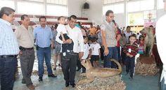 Gran afluencia se registró en la exposición de Taxidermia en Huetamo, destacó el presidente municipa...