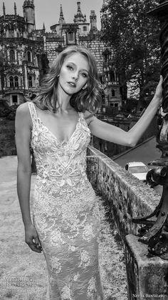 27c557a4aa8 netta benshabu 2017 bridal sleeveless sweetheart neckline with strap full  embellishment elegant fit and flare wedding