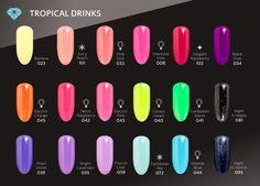 Semilac - Tropical Drinks