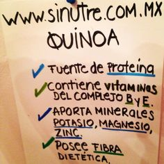 Beneficios de la #quinoa Roja, perlada, negra, inflada, harina y mucho más! Recetas fáciles de quinoa Calligraphy, Clean Diet, Vitamin E, Easy Recipes, Meal, Lettering, Calligraphy Art, Hand Lettering, Hand Lettering Art