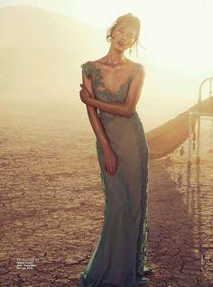 Liu Wen for Vogue Australia