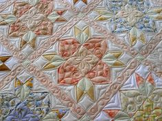 Pieced by Nancy Philabaum. Quilted by Jessica's Quilting Studio