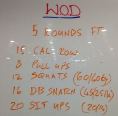 Mother-In-Law WOD