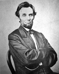 "Love this picture...I call it ""Abe with Attitude"""