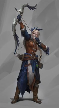 Tagged with art, drawings, fantasy, roleplay, dungeons and dragons; Dnd Characters, Fantasy Characters, Female Characters, Archer Characters, Fantasy Character Design, Character Inspiration, Character Art, Female Character Concept, Character Ideas
