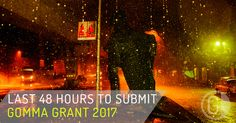 LAST 48 HOURS TO SUBMIT TO THIS YEAR GOMMA PHOTOGRAPHY GRANT.  Gomma Grant is open to everyone. Any medium, black & white or colour, analogue or digital. What we are looking for is consistency, personality and courage. Photographers that have been recognized through the Gomma Grant are known to have evolved their career to a higher level, both professionally and artistically.  DEADLINE 31ST OCTOBER 2017.  http://gommagrant.com/